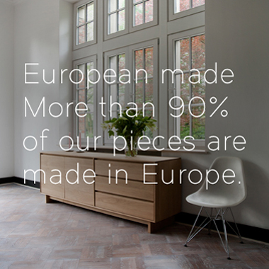 European made solid wood