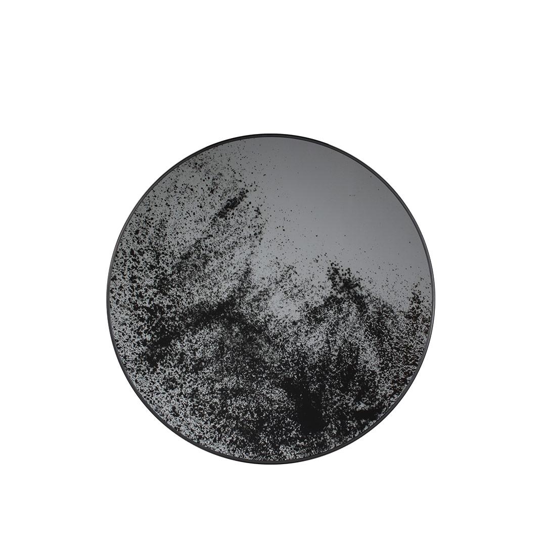 Notre Monde Heavy Aged - Mirror Round Tray - Medium 61cm