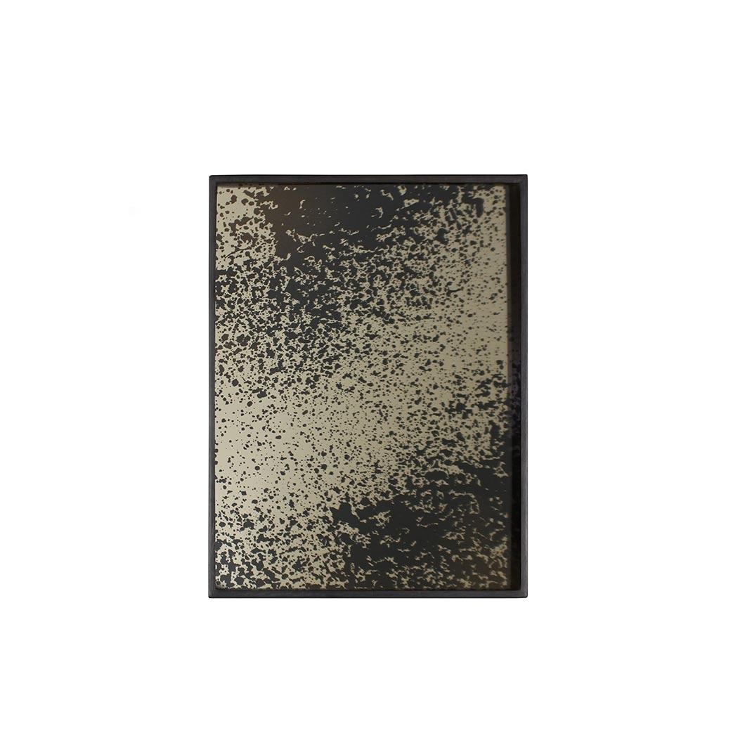 Notre Monde Heavy Aged Bronze - Mirror Rectangular Tray - Medium 61cm