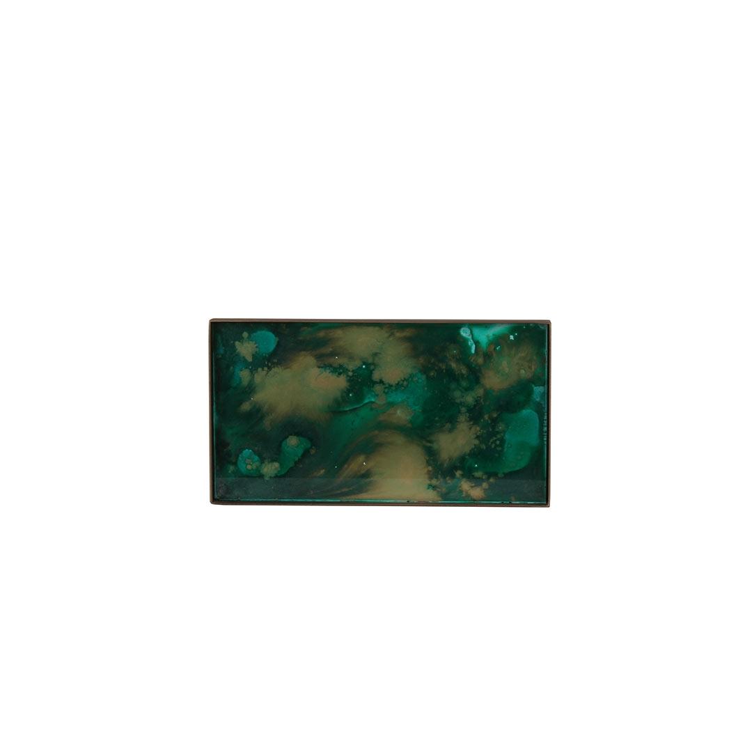 Notre Monde Malachite Organic Mini Tray - Medium