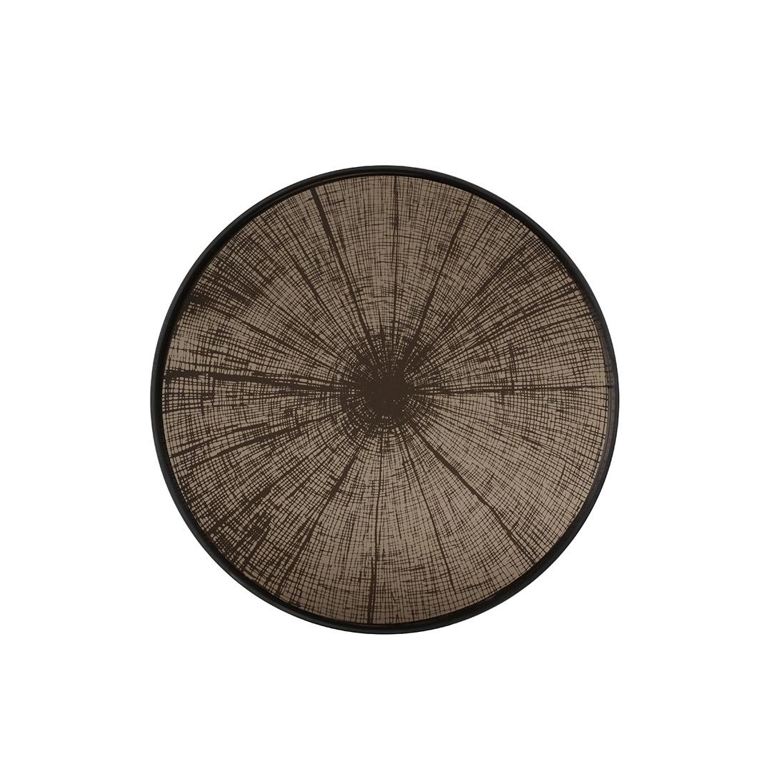 Notre Monde Bronze Slice - Mirror Round Tray - Medium 61cm
