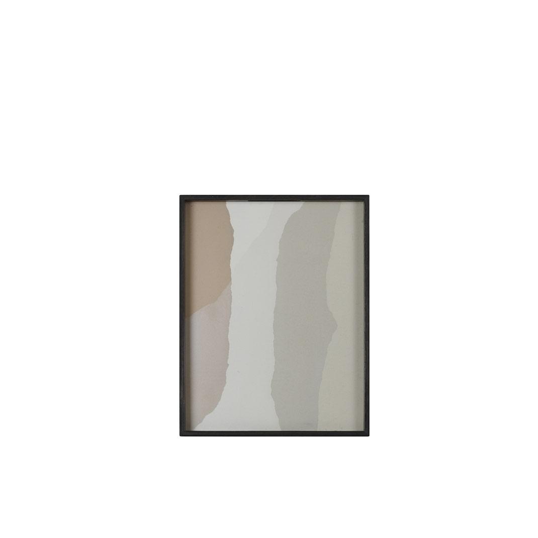 Notre Monde Sand Wabi Sabi - Glass Square Tray - Small 46cm
