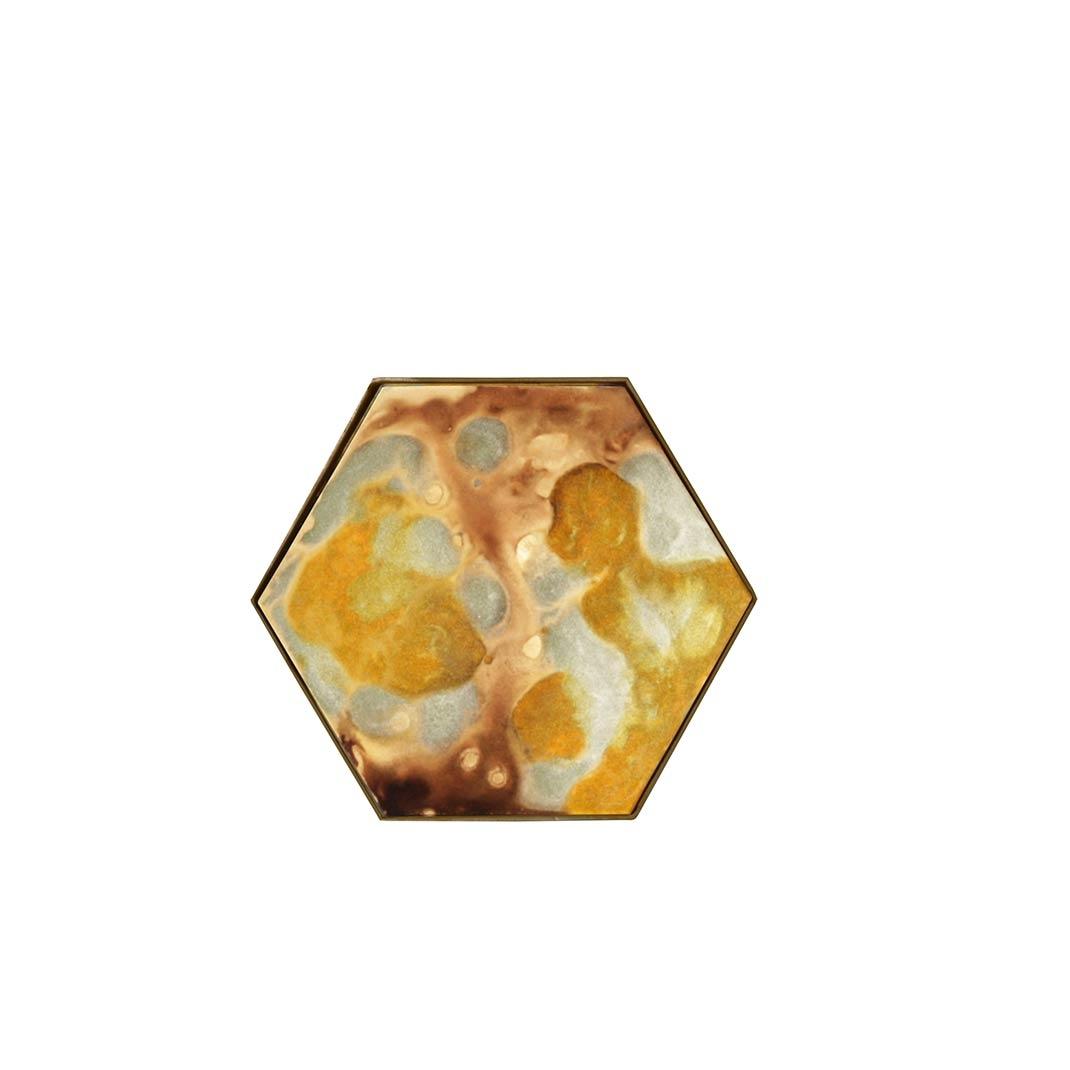 Notre Monde Yellow Organic Mini Tray - 19cm