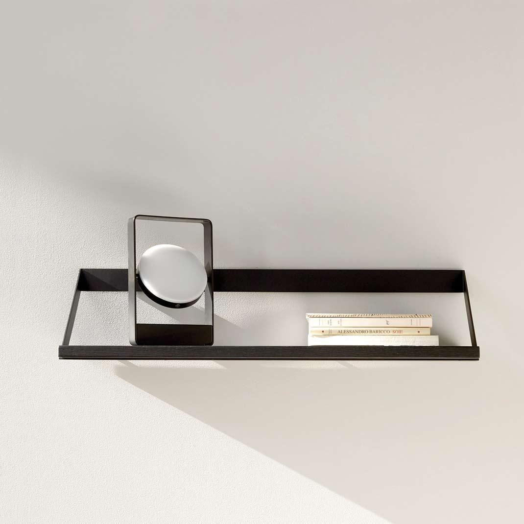 Ethnicraft Black Oak Ribbon shelves - 70cm