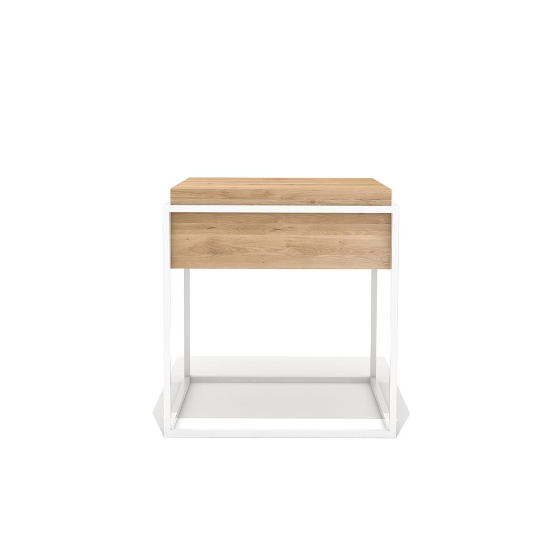 Ethnicraft Oak Monolit Side Tables S