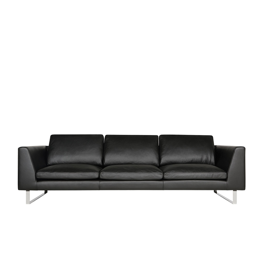 Tribeca 3,5 seater leather sofa