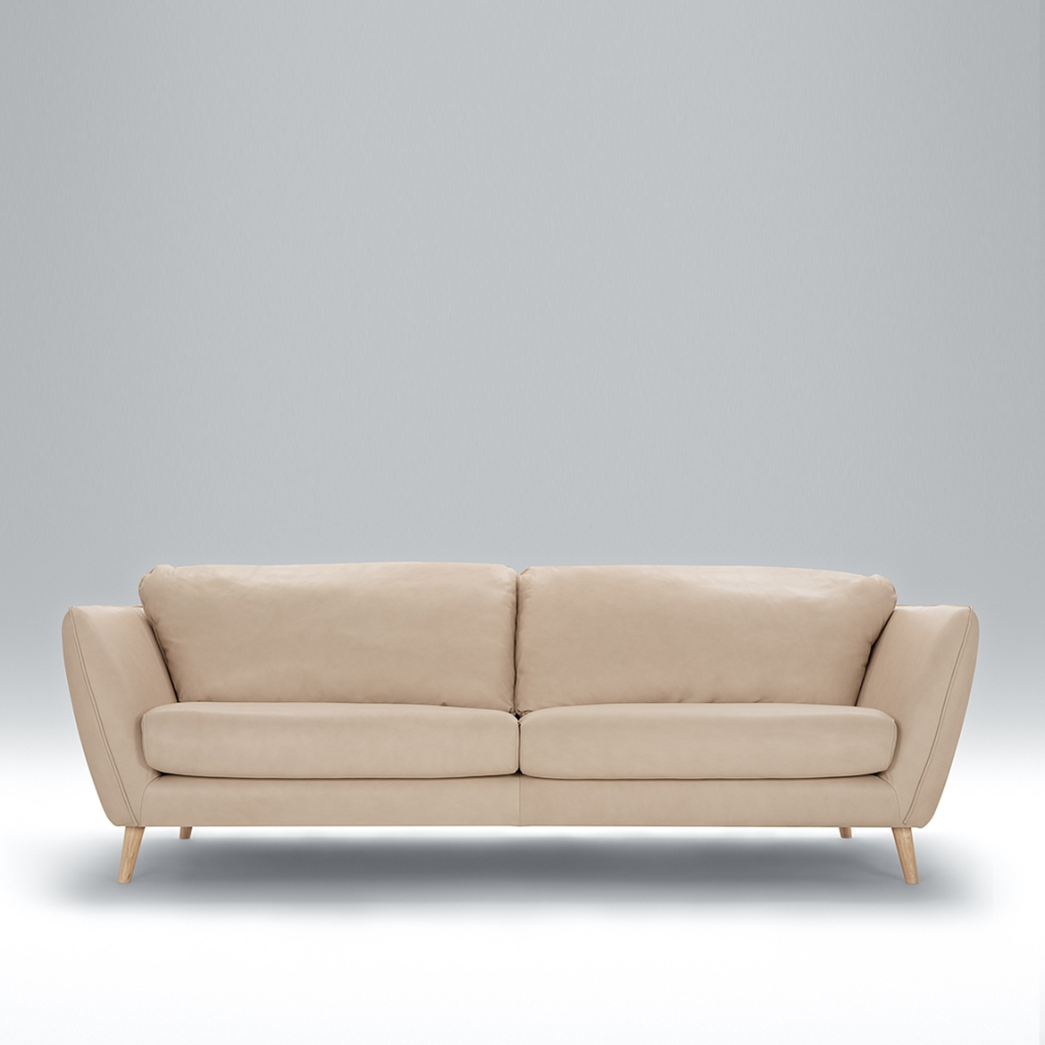 Angel 2 seater leather sofa