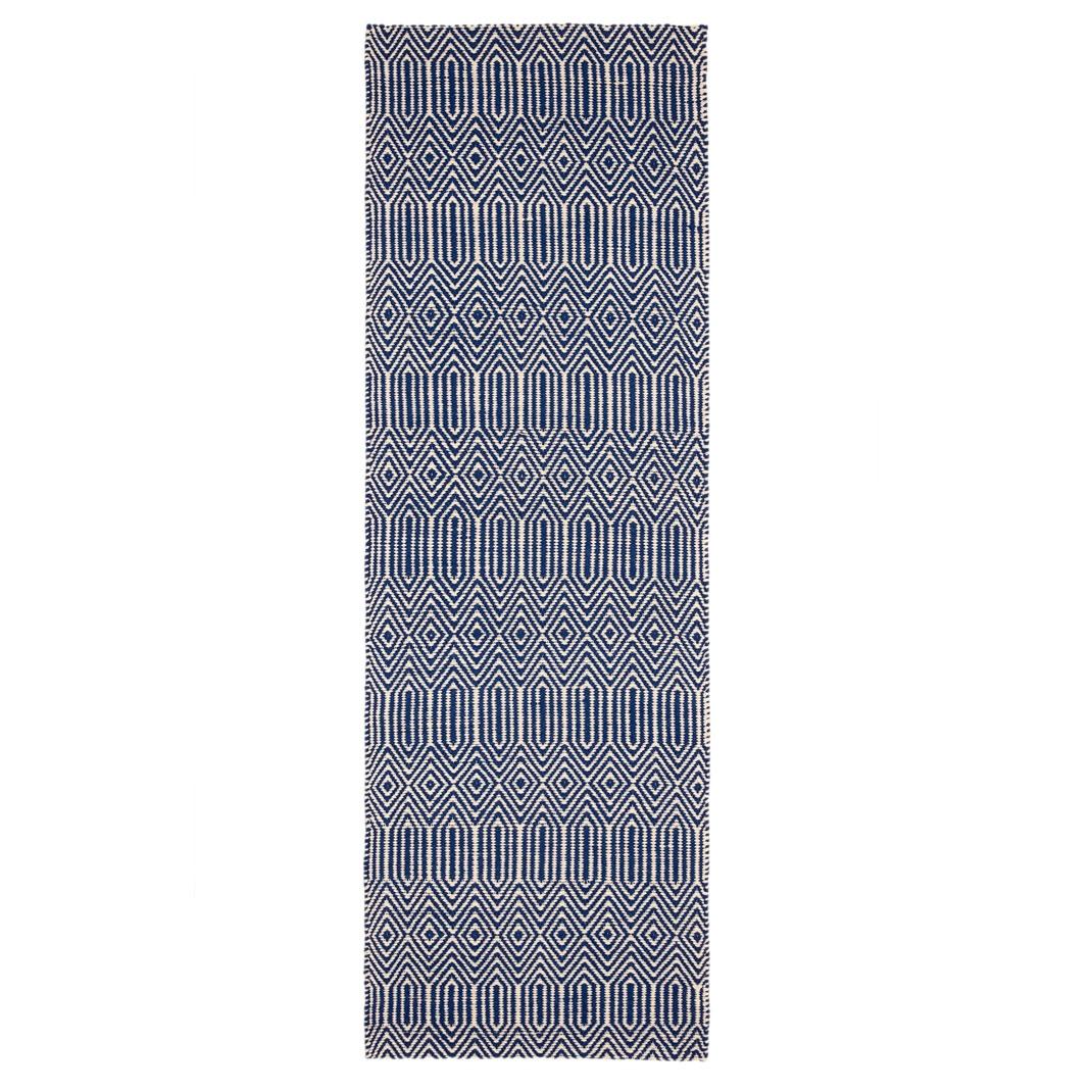 Anouk runner rug - Blue