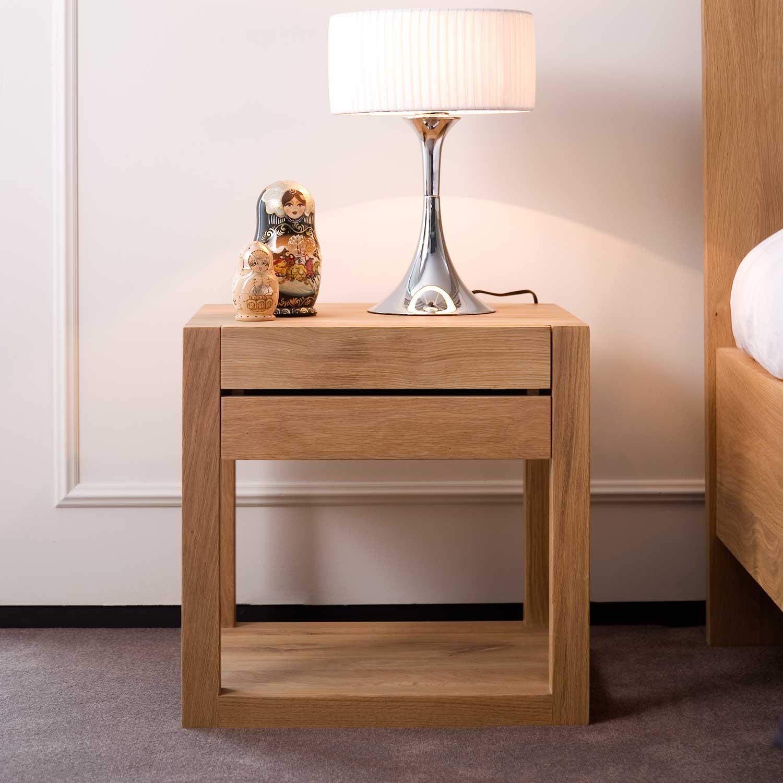 Ethnicraft Oak Azur bedside table - 1 drawer
