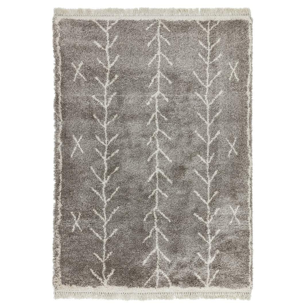 Berber Rug Arrow - Charcoal