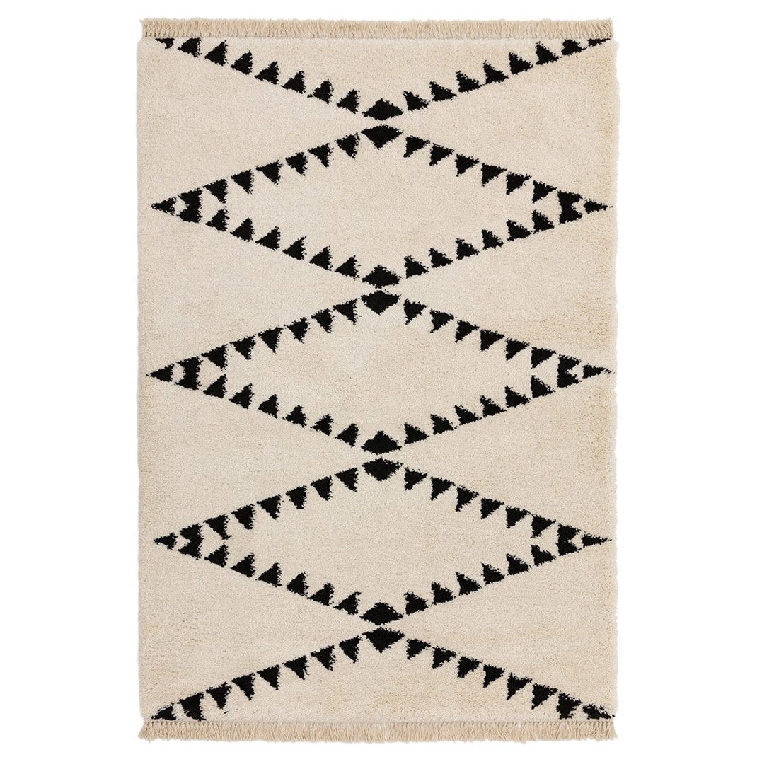 Berber Rug Tribal - Cream