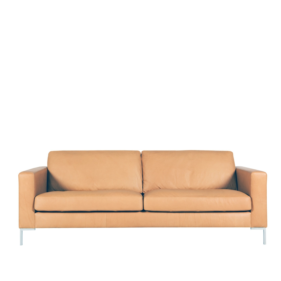 Blade 2 seater leather sofa