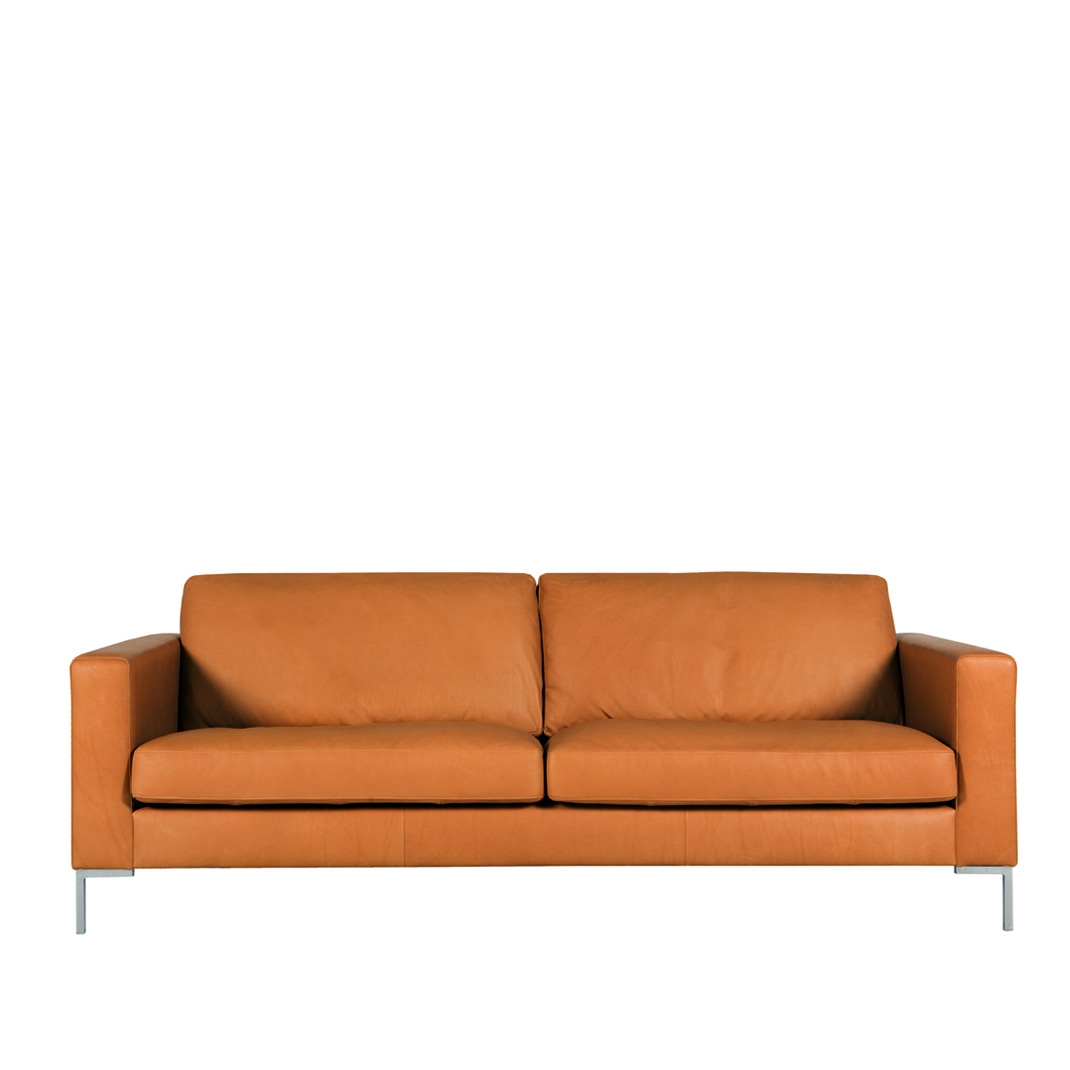 Blade 2.5 seater leather sofa