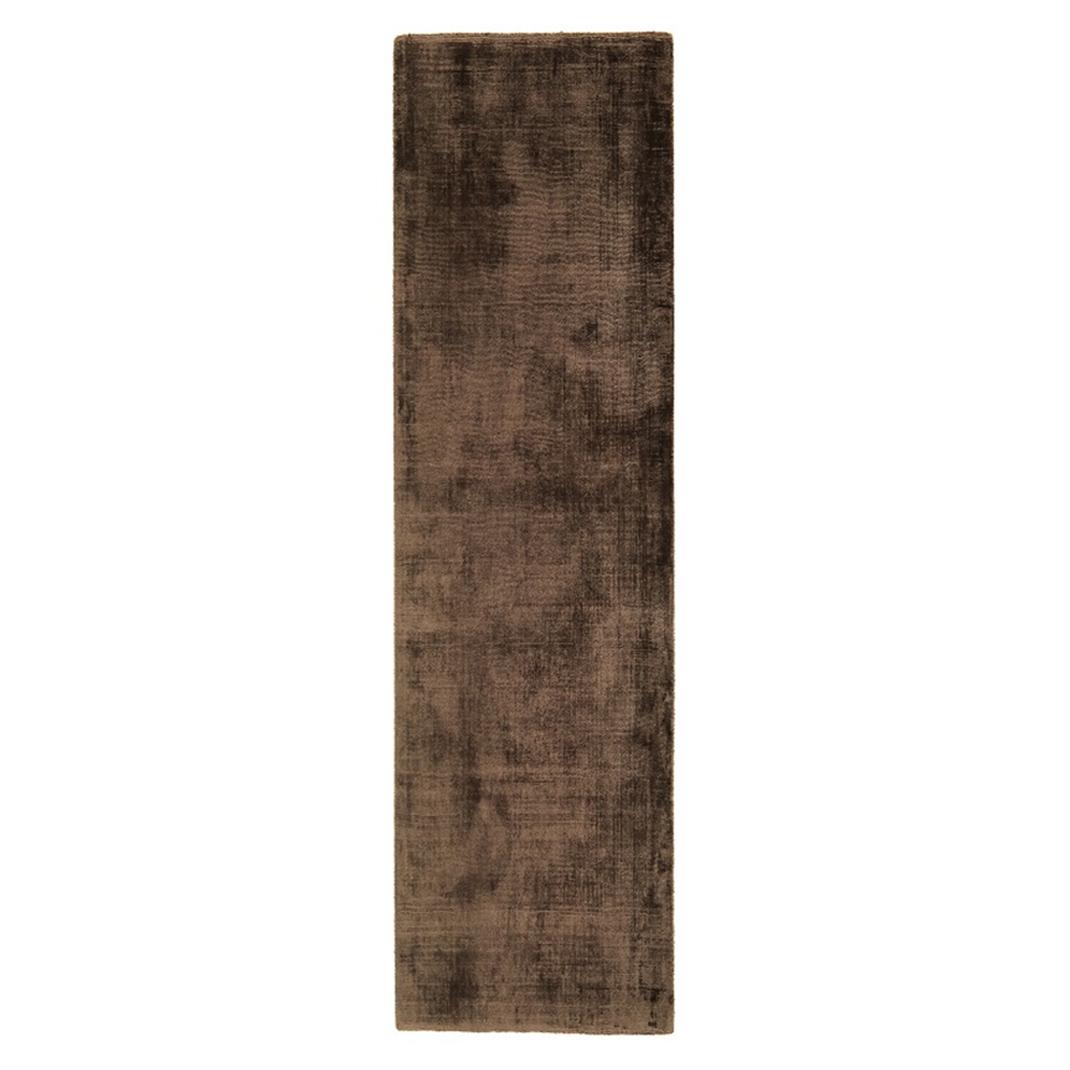 Blake runner rug - Chocolat