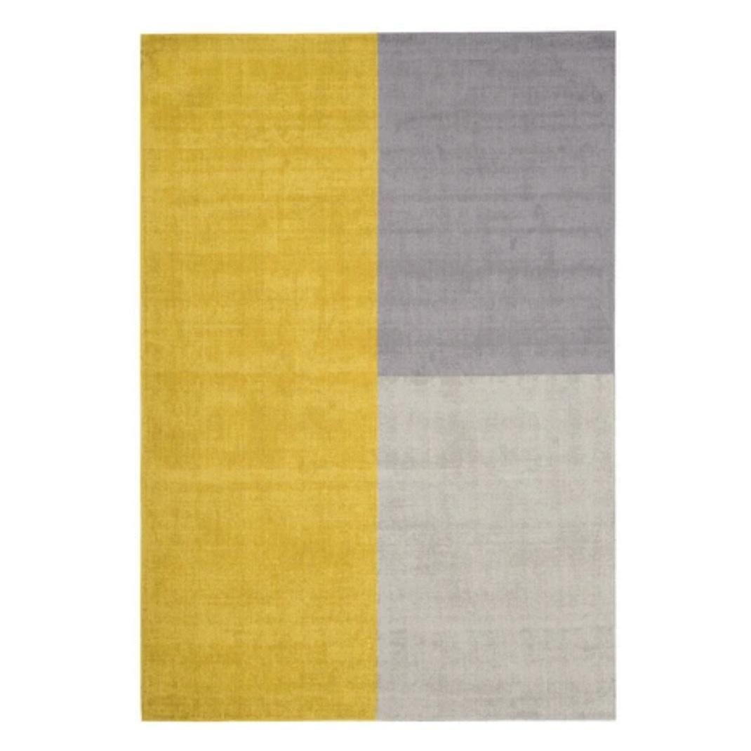 Blox rug - Mustard