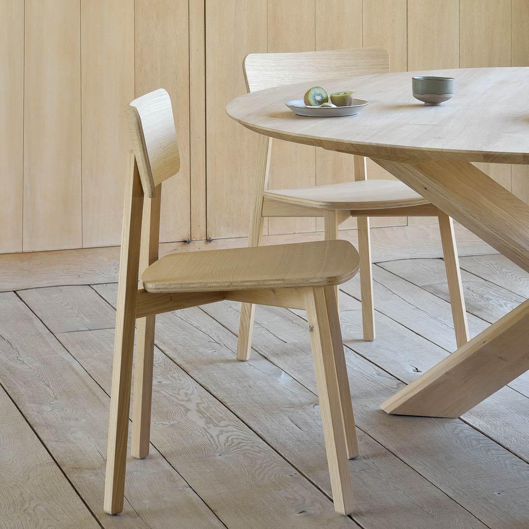 Ethnicraft Oak Casale chair