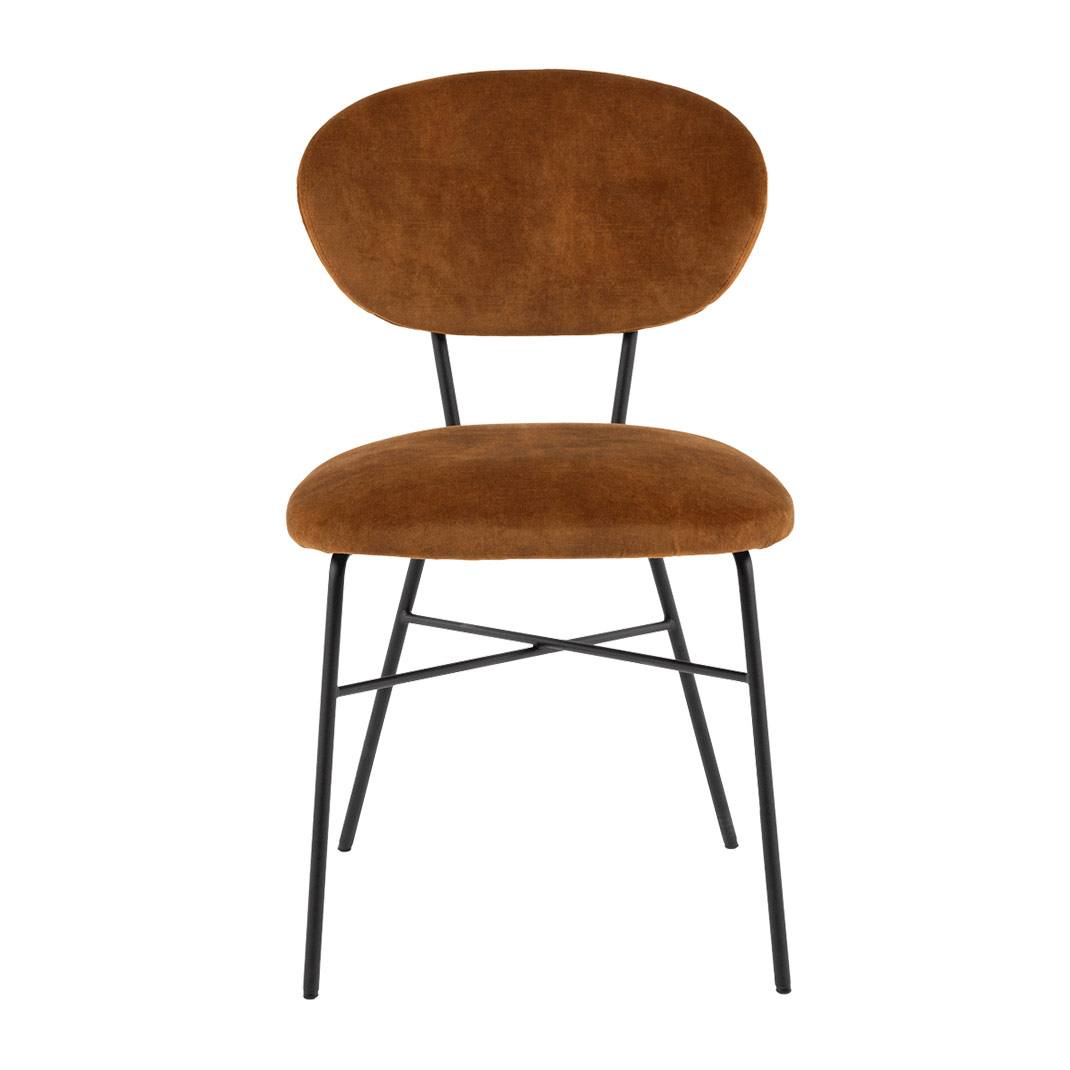 Coco chair with metal legs