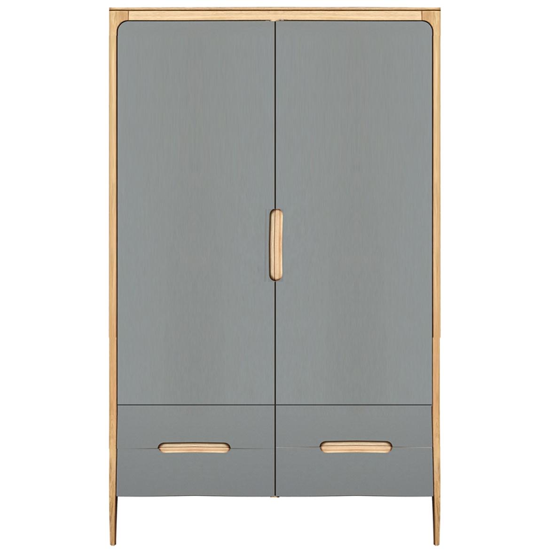 Como large wardrobe - 2 doors, 4 drawers
