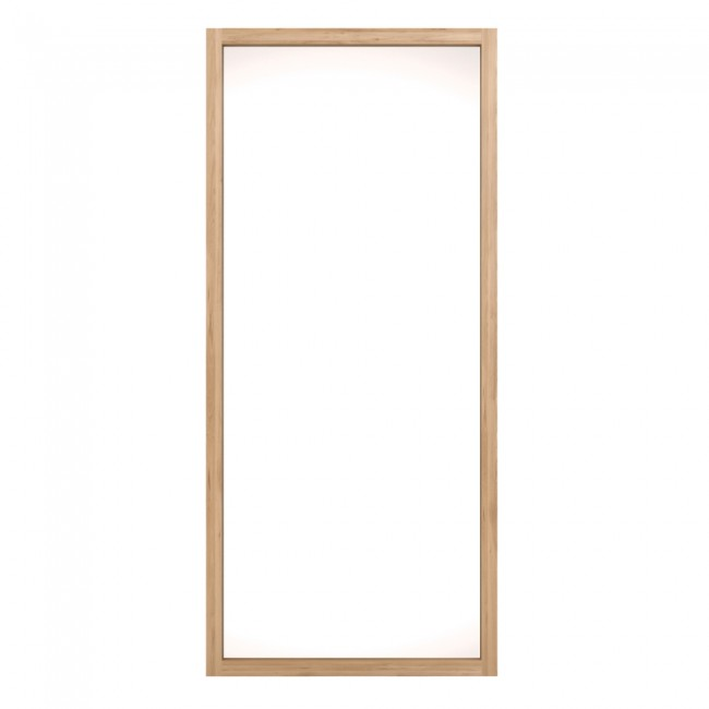 Ethnicraft Oak Light frame mirror 200 cm