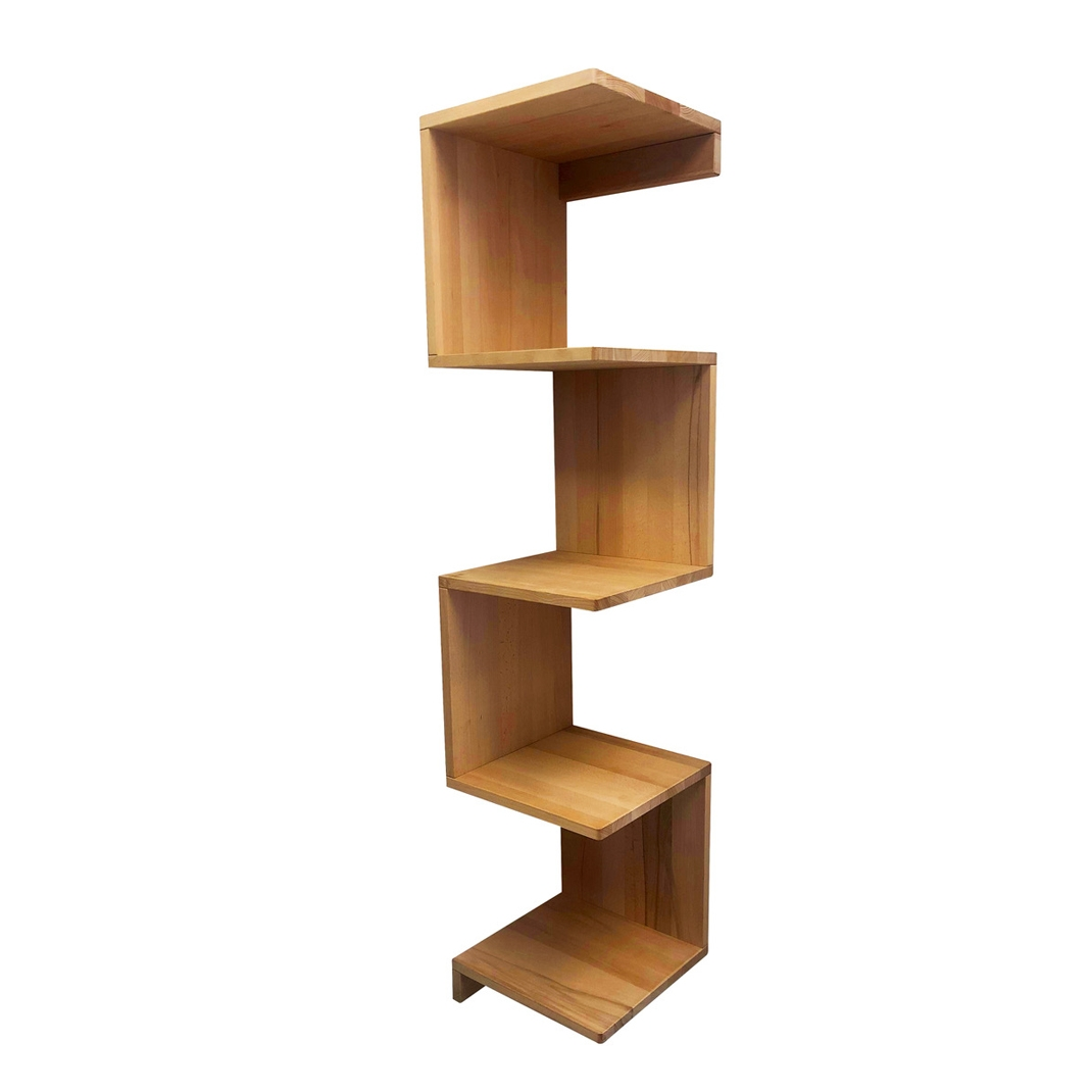 Gecko oak shelf