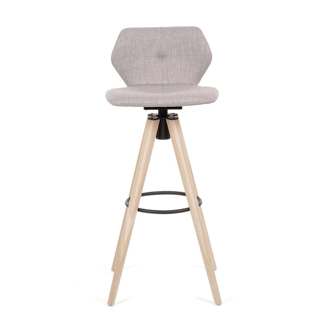 Jay 91 swivel bar stool - 82cm