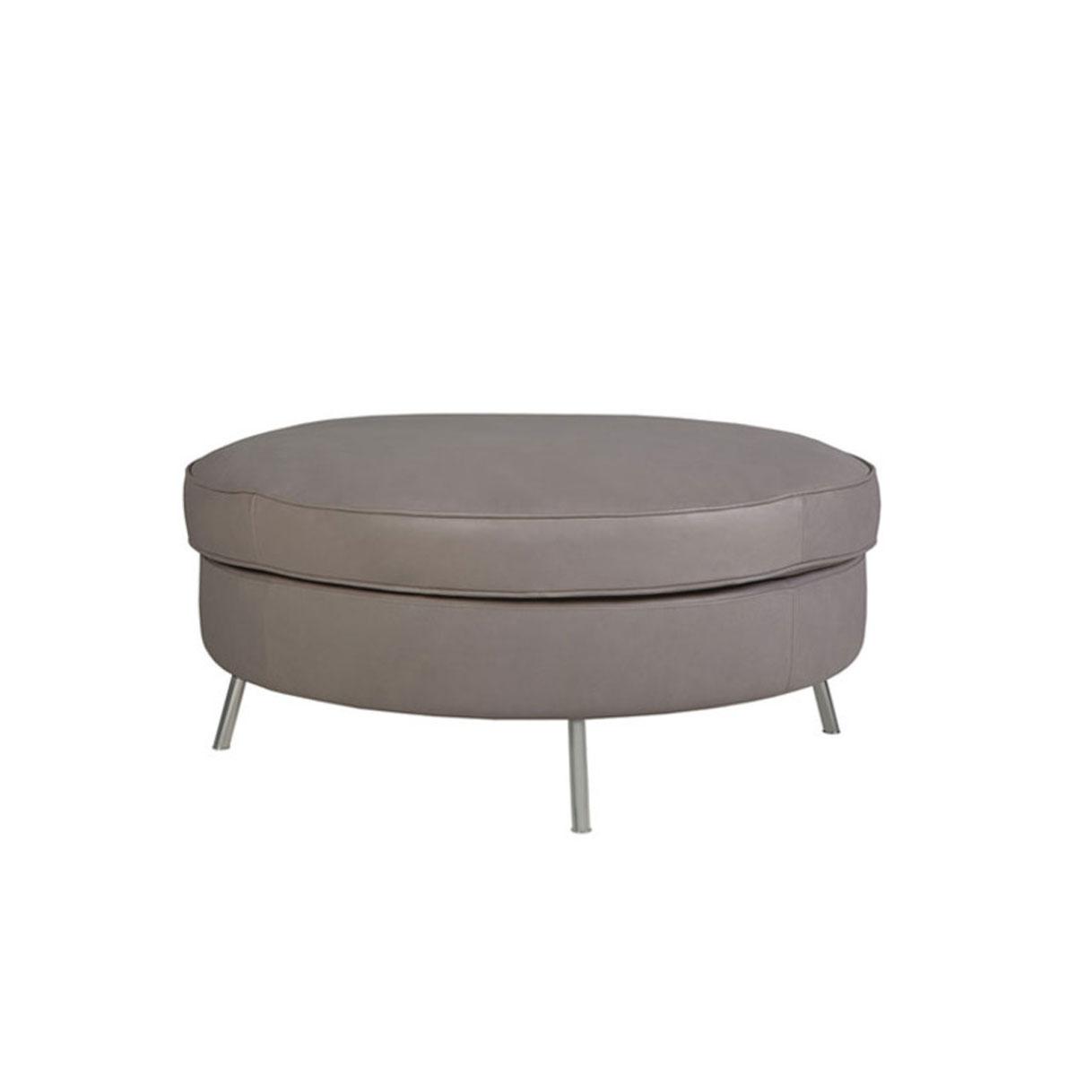 Jules footstool round