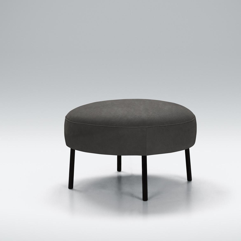 Laze round footstool