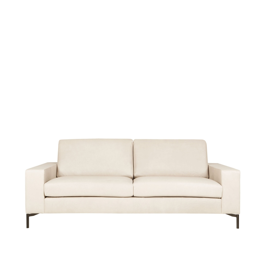 Loki 2 seater leather sofa