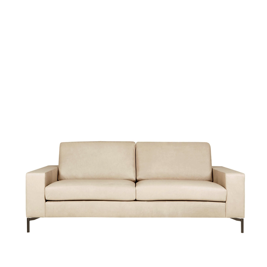 Loki 3 seater leather sofa