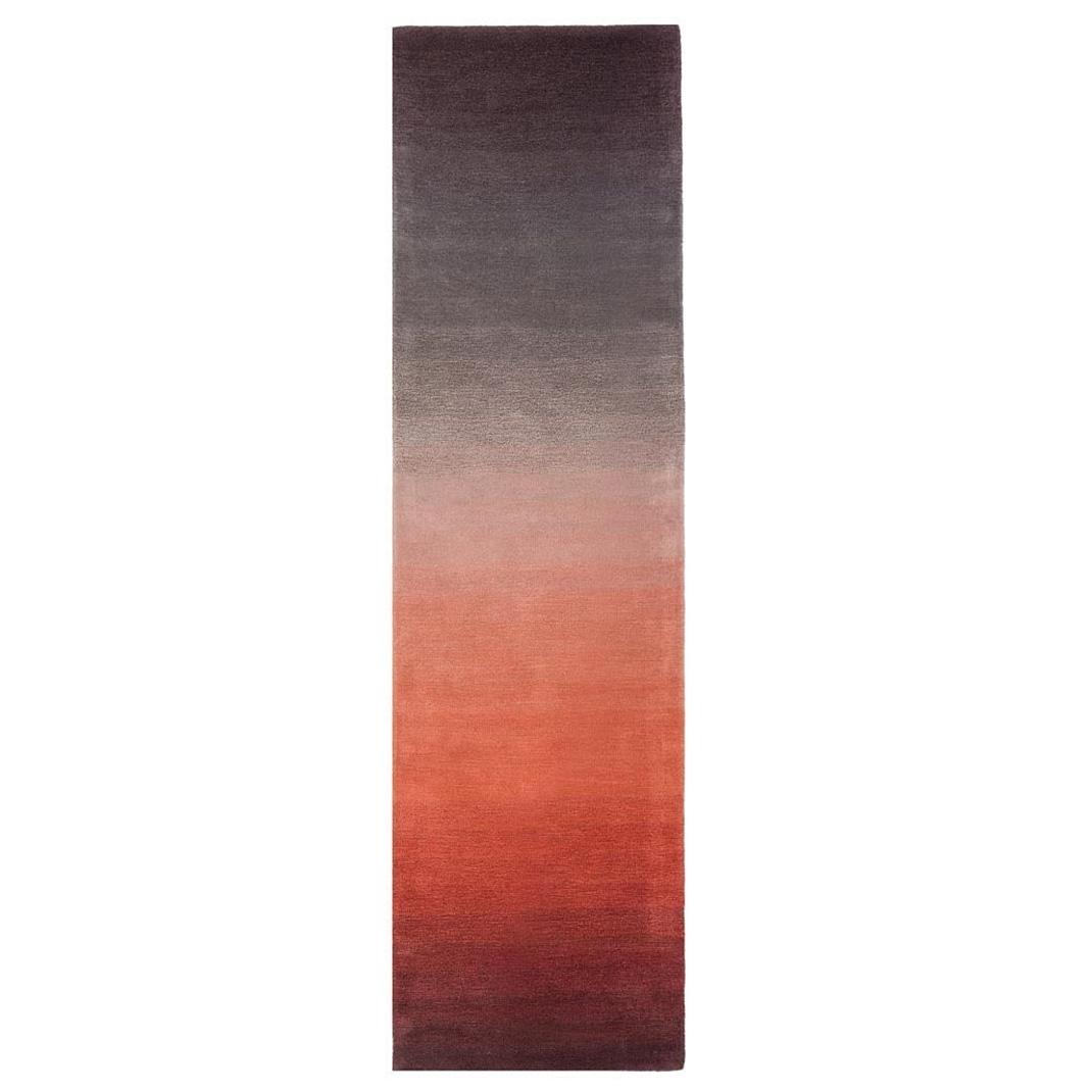 Luco runner rug - Rust