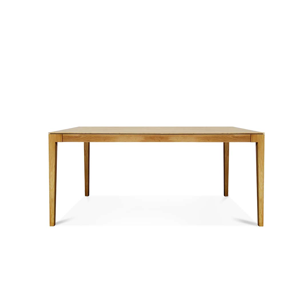 Lugano oak dining table