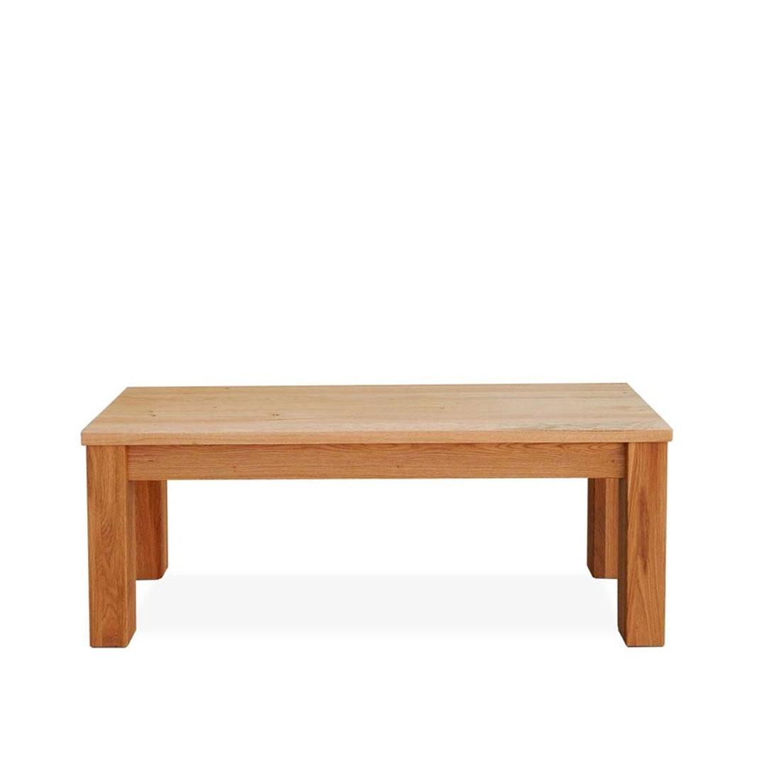 Marco oak bench