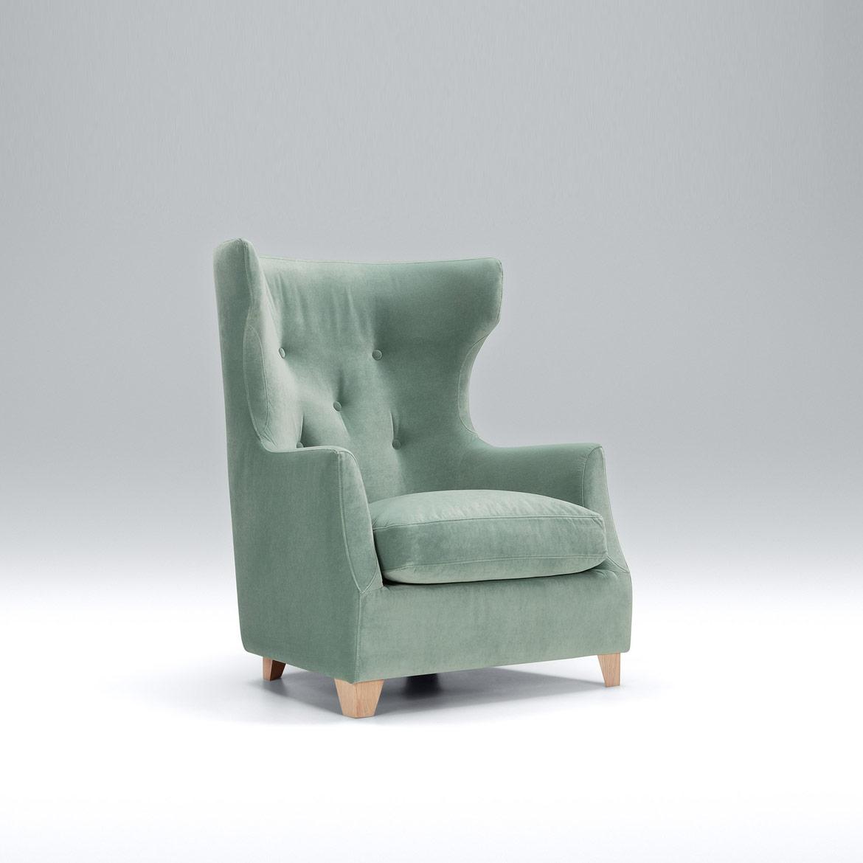 Monterey highback armchair