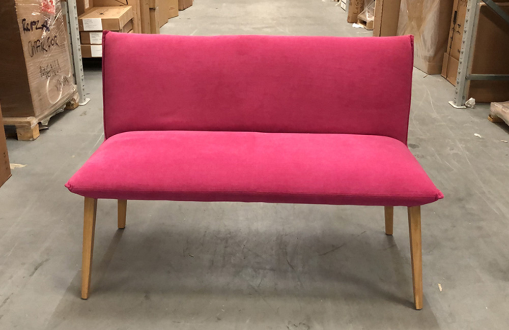 Ex display Duo soft bench in Mystic Pink (222062)