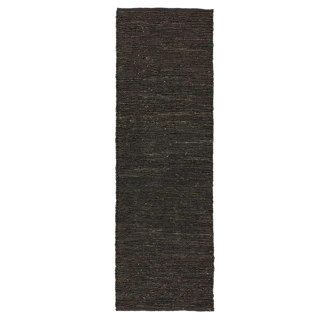 Nomad runner rug - Charcoal