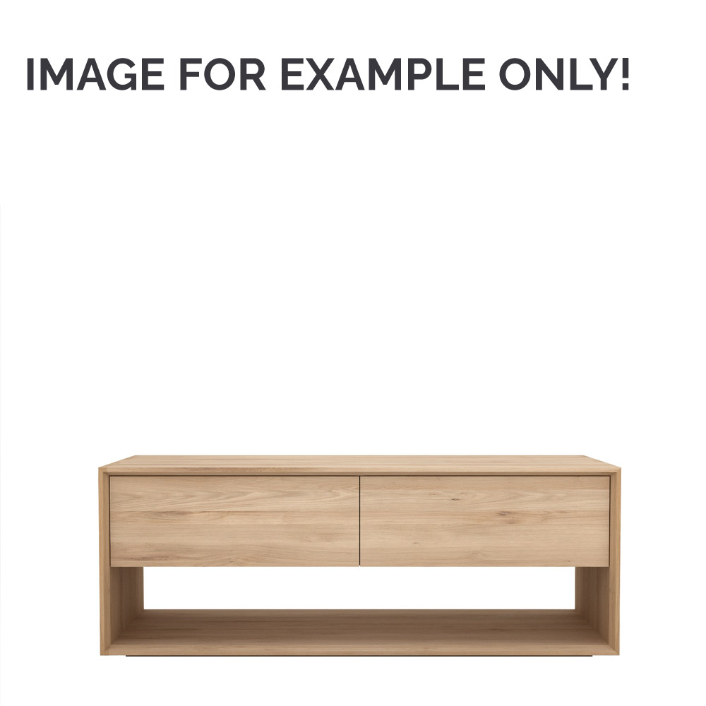 Ex display Ethnicraft Oak Nordic TV cupboard 120cm (229319)