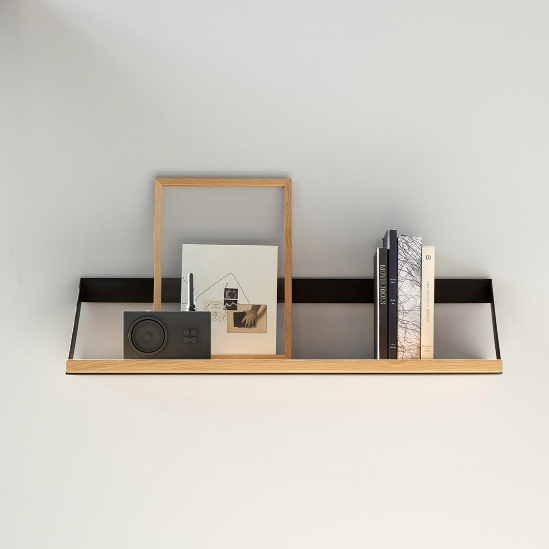 Ethnicraft Oak Ribbon shelves - 70cm