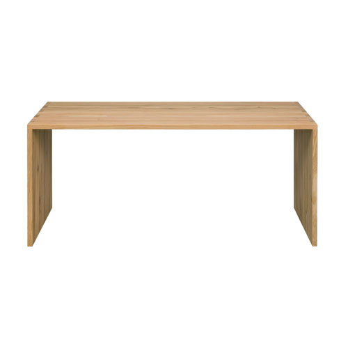 Ethnicraft Oak office U desk - 172 cm