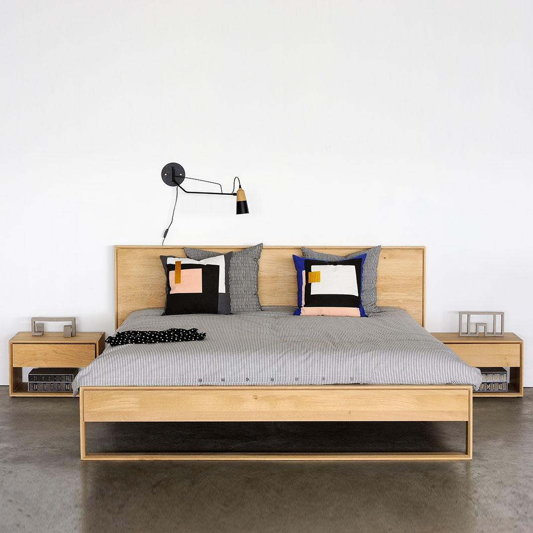 Ethnicraft Oak Nordic II beds