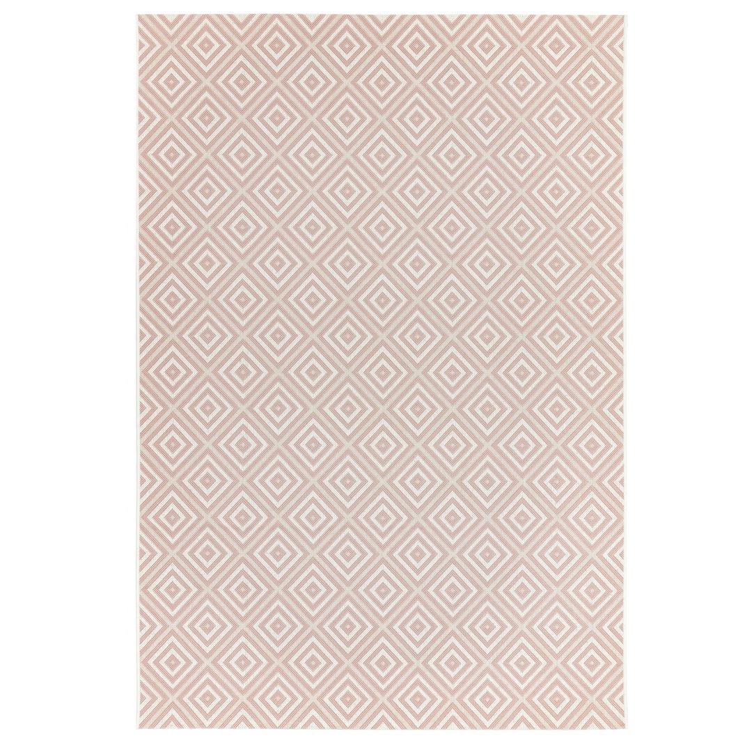 Rio outdoor rug pink