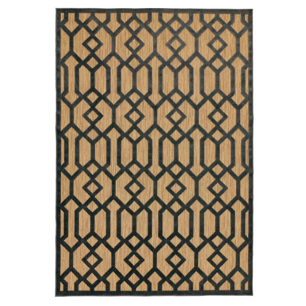 Rio outdoor rug grey