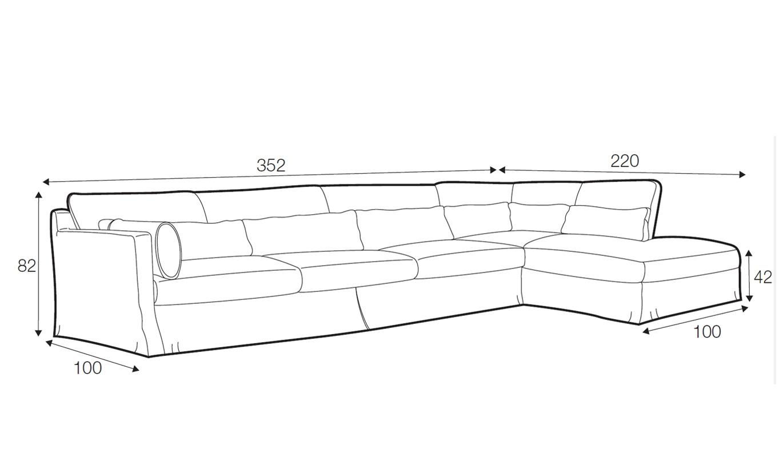 Sloan corner sofa - set 3