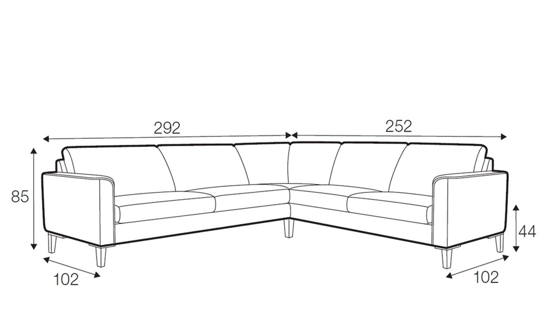 Hacienda corner sofa - set 8
