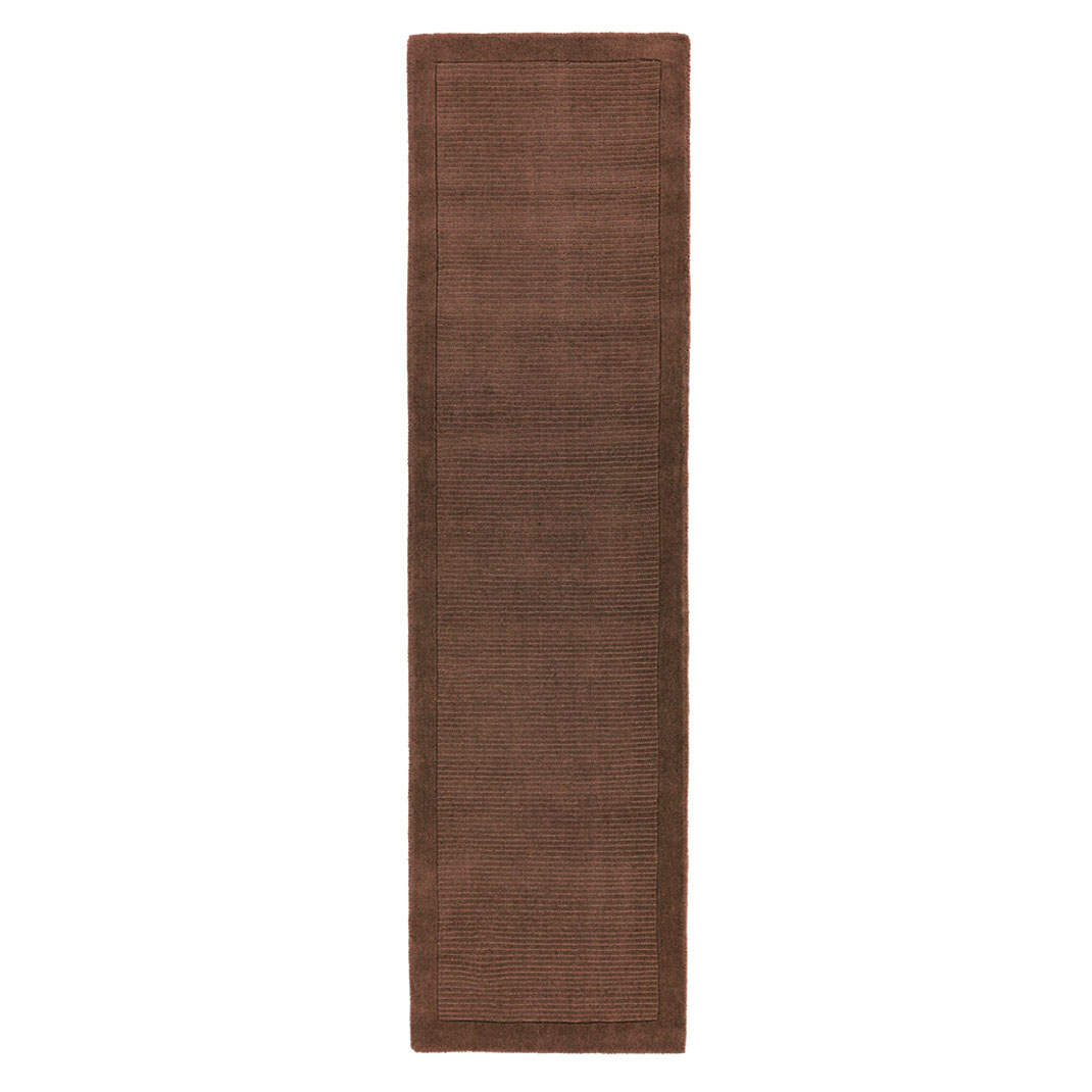 Shire runner rug - Chocolate