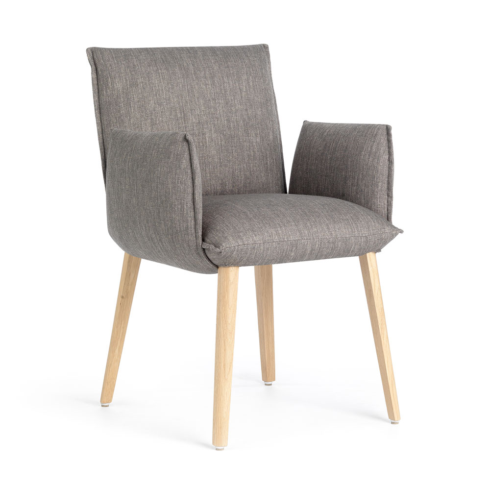 Soft chair with arms H47