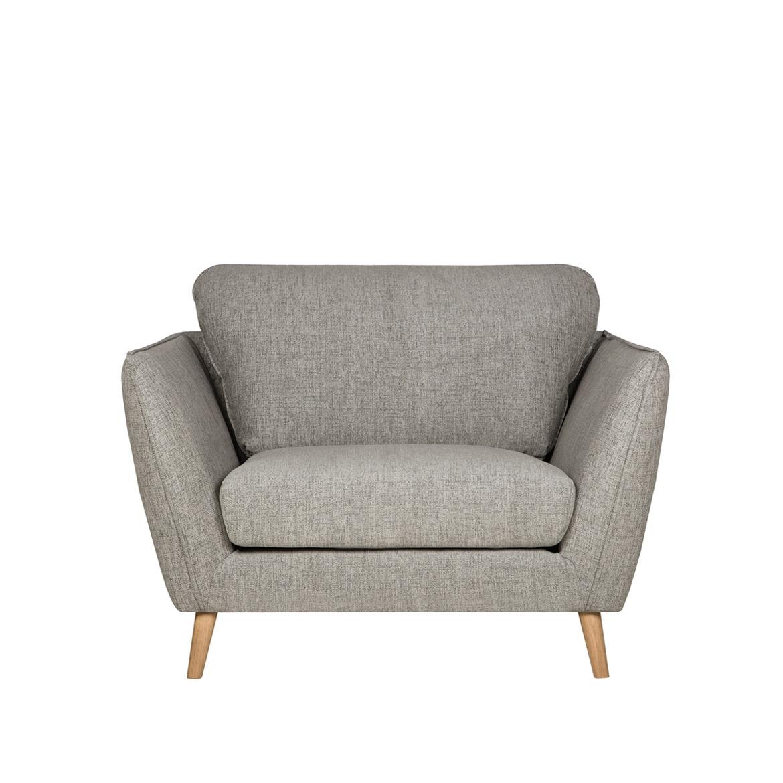 Angel leather armchair