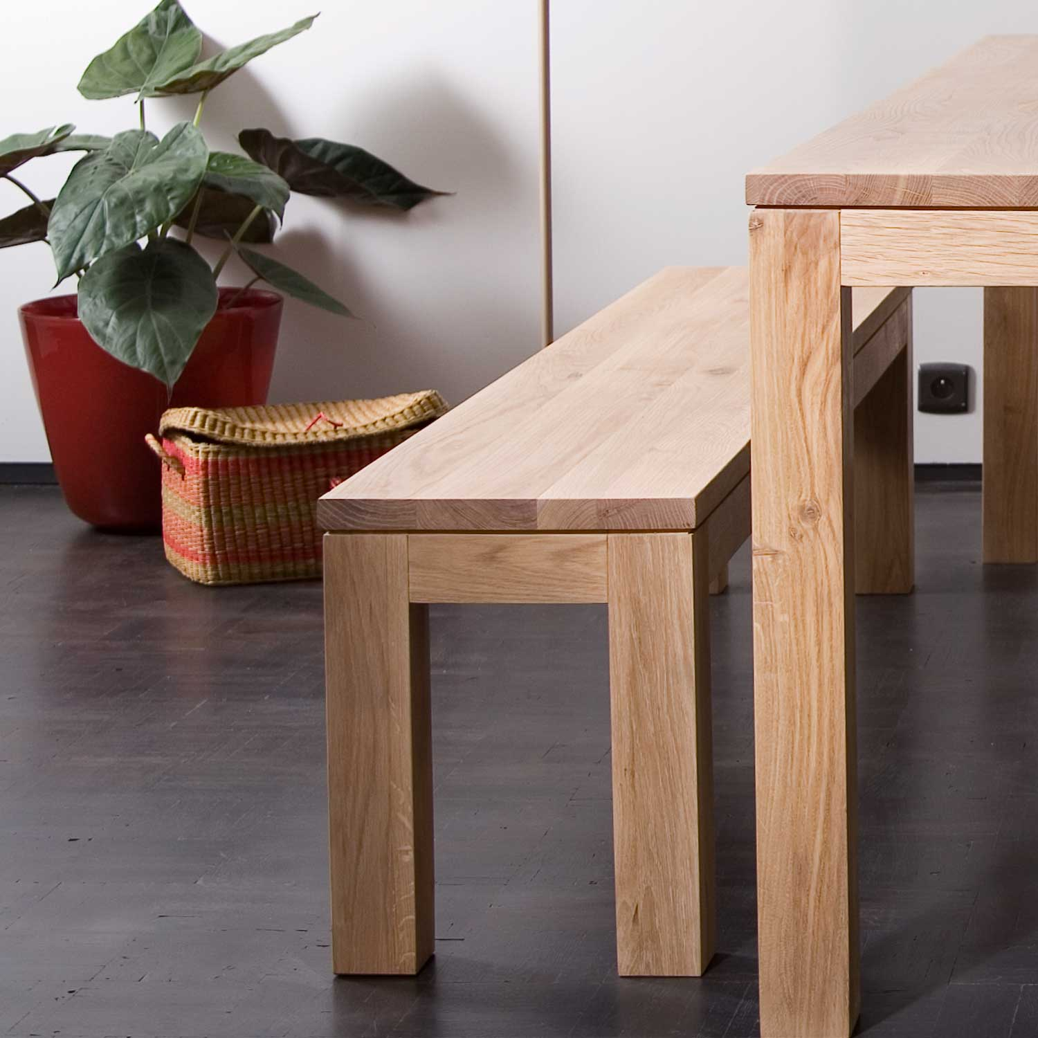Ethnicraft Oak Straight benches