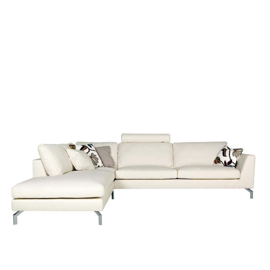 Tahoe corner leather sofa - set 10