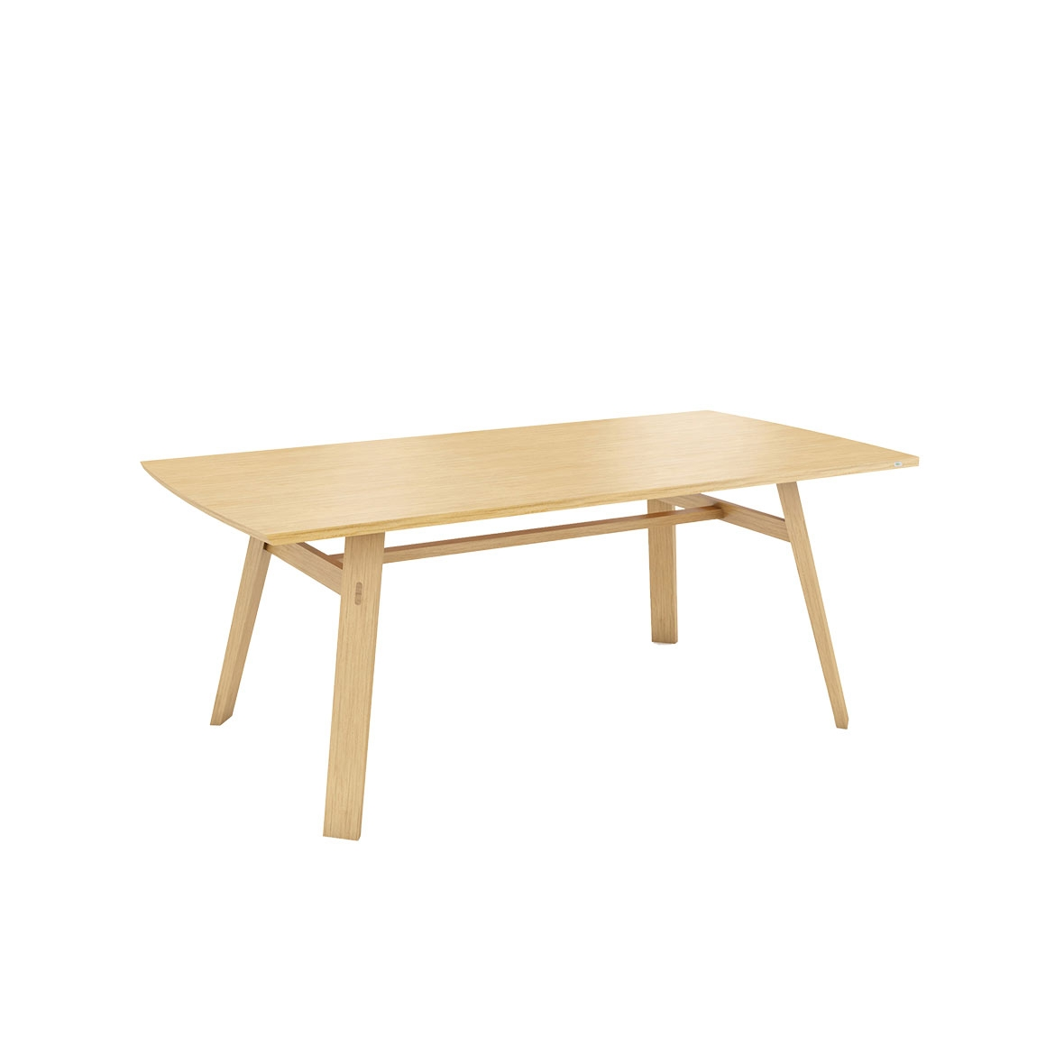 Tate oak dining table