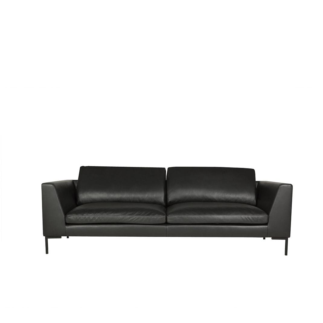 Tribeca 3 seater leather sofa